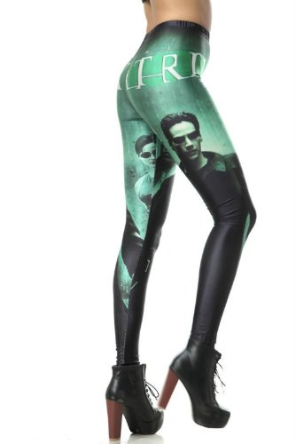 Fashion Women's X-man Star War Galaxy Leggings Pants