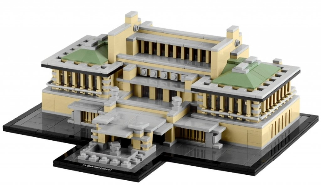 Lego Architecture Imperial Hotel Gadgets Matrix