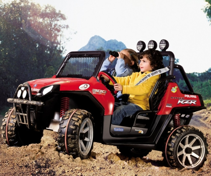 RZR Polaris Red Ranger