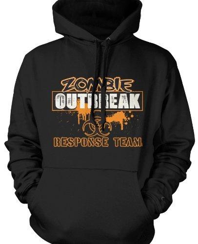 Zombie Outbreak Response Team Mens Zombie Sweatshirt