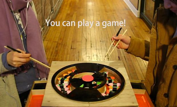 Chopsticking Board Game