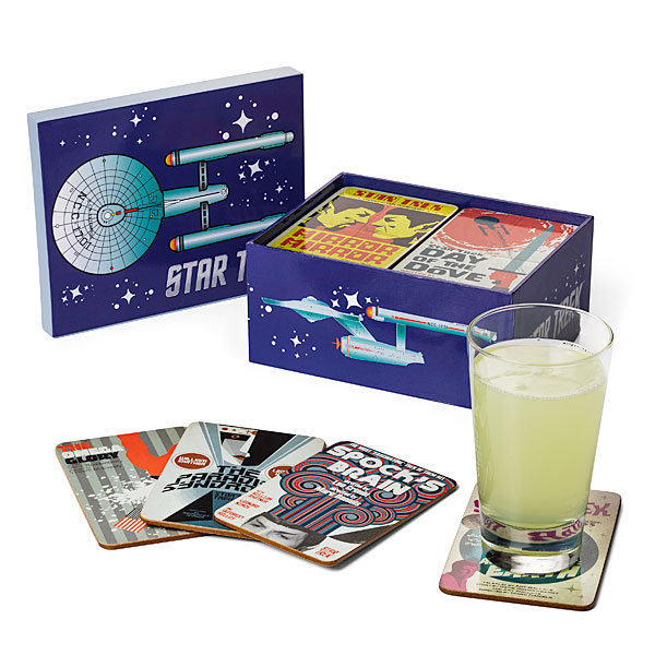 Star Trek Coasters Classic Art Coasters