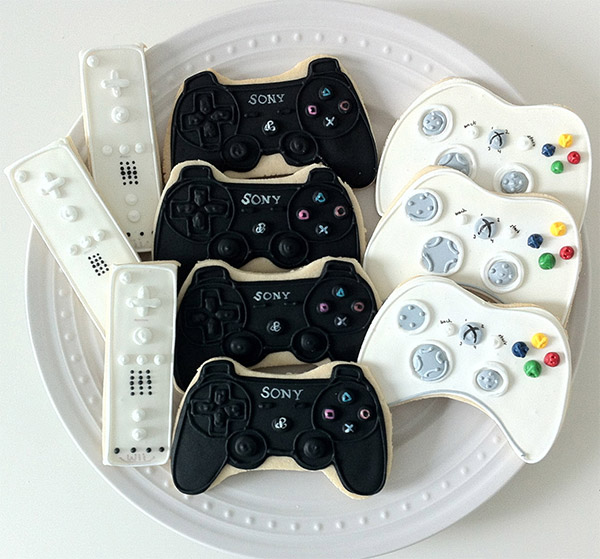 Game Controller Cookies