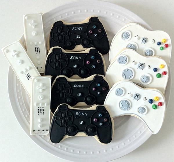 Game Controller Cookies