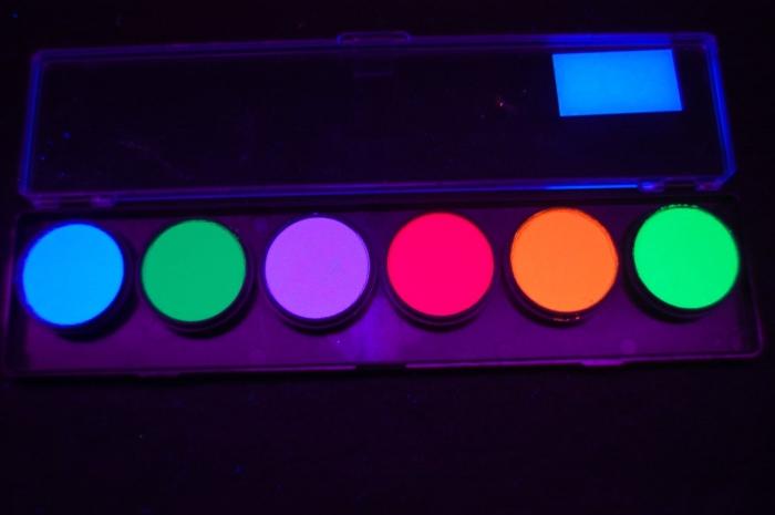 6 Color Neon Palette