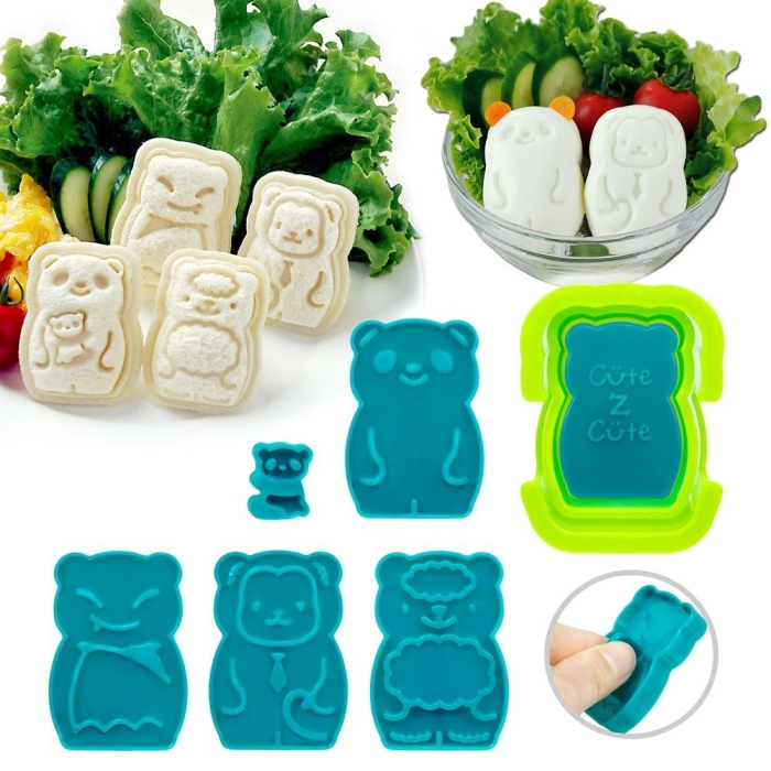 Animal Palz Mini Sandwich and Egg Press