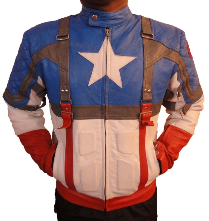 Captain America First Avenger New Leather Jacket
