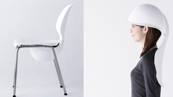 A Chair That Turns Into Helmet