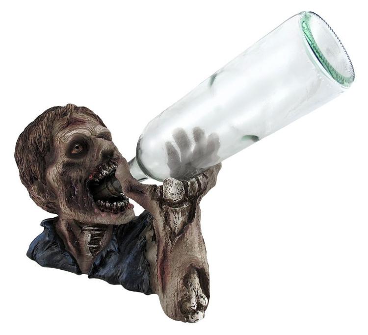 `Elixer of the Undead` Zombie Wine Bottle Holder