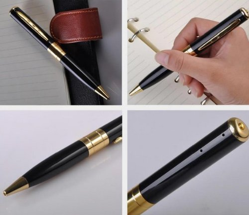 Hidden Camera Voice Recorder Pen