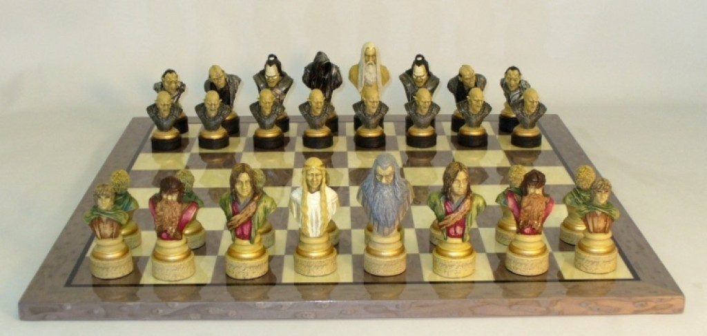 Lord Of The Rings Grey Briar Brd Chess Set Gadgets Matrix