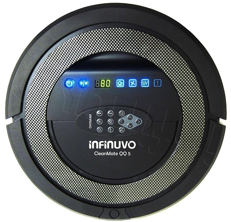 Robotic Vacuum Cleaner with Scheduler