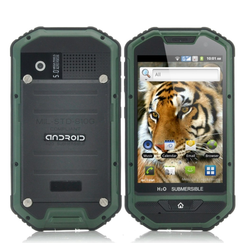 """Best Kitchen Design App For Android: Rugged 4 Inch Android Phone """"Mastodon II"""""""