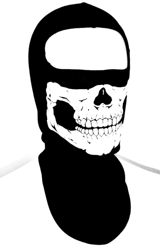 Skull Face Ghost SKI Mask