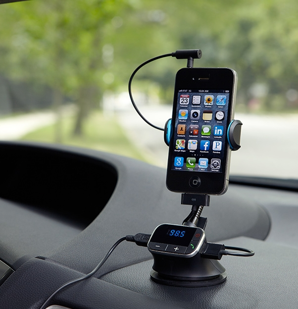 Smartphone Stand with FM Transmitter
