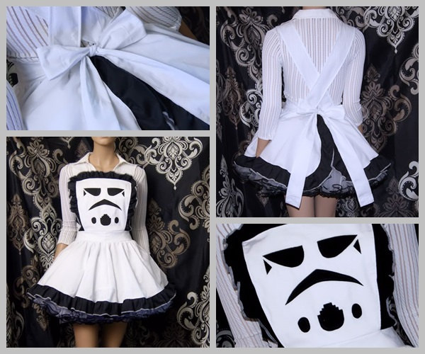 Star Wars Storm Trooper Helmet Pinafore Apron
