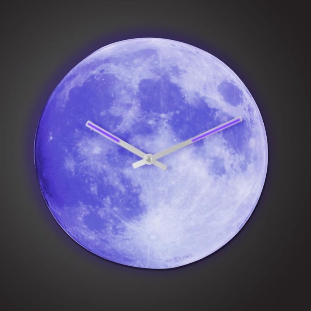 The Luminescent Moon Clock Gadgets Matrix