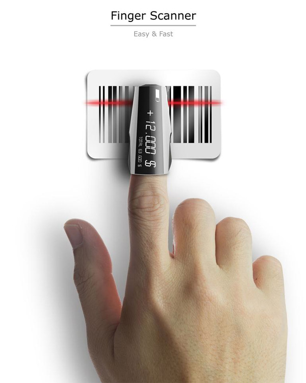 Scanning At Your Finger Tips