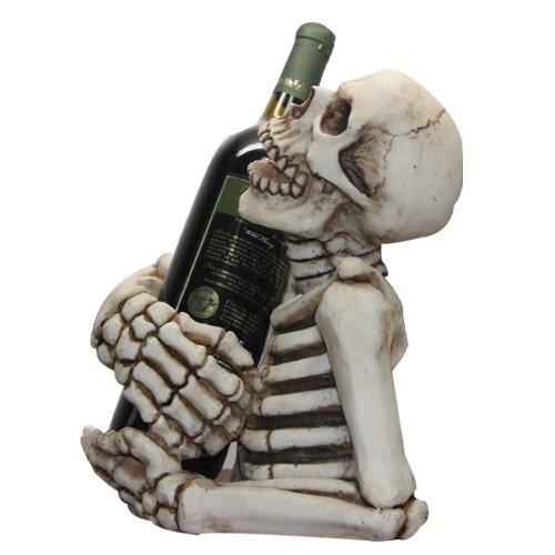 keleton Decorative Design Collectible Wine Bottle Holder Rack