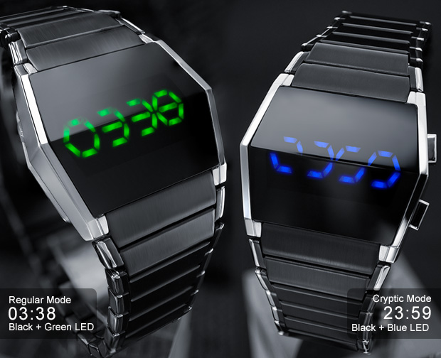 Kisai Xtal LED Watch