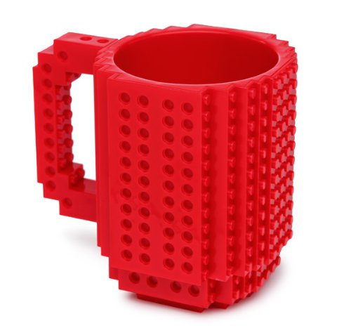 Build-On LegoTM Brick Mug