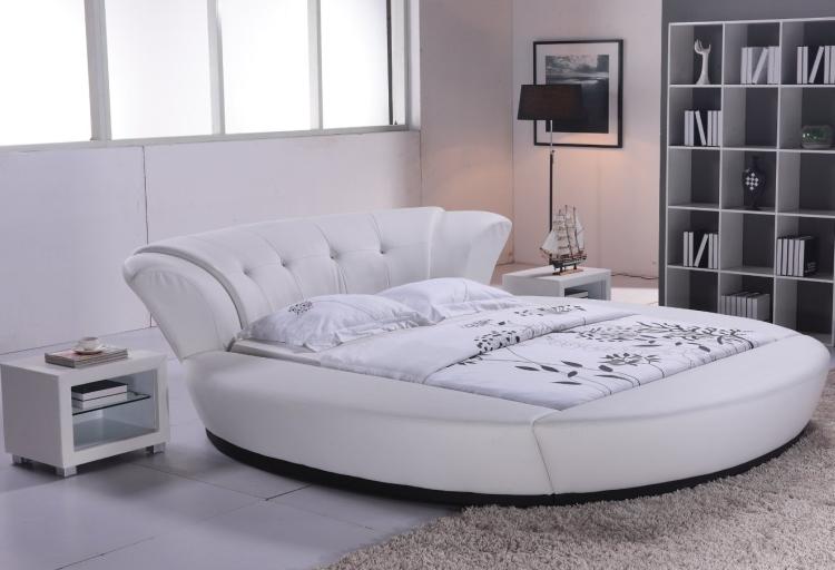 Cabana Modern Bed White