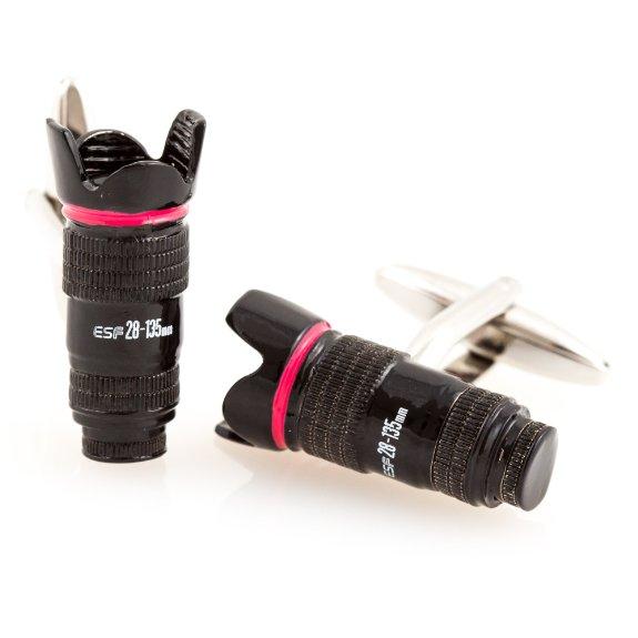 Camera Lens Cufflinks