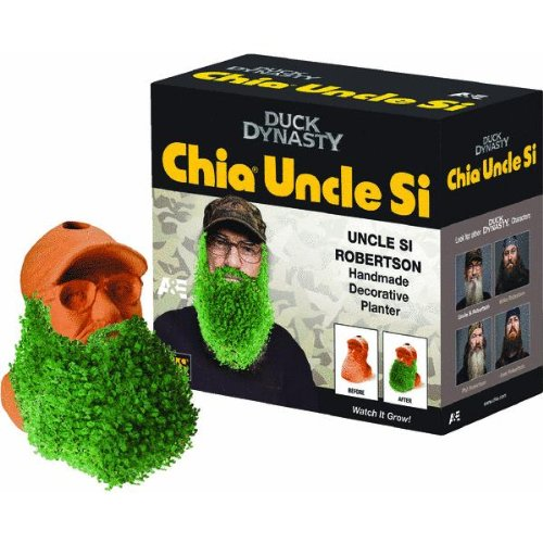 Chia Uncle Si Robertson Handmade Decorative Planter