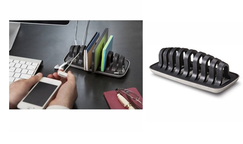 Cordies Executive Desk Organizer and Cord Management System