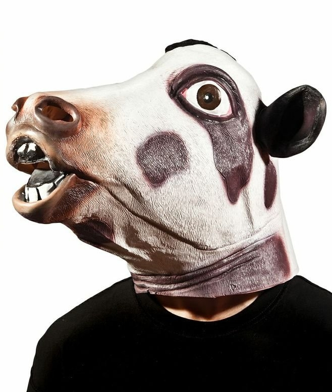 Cow Head Mask
