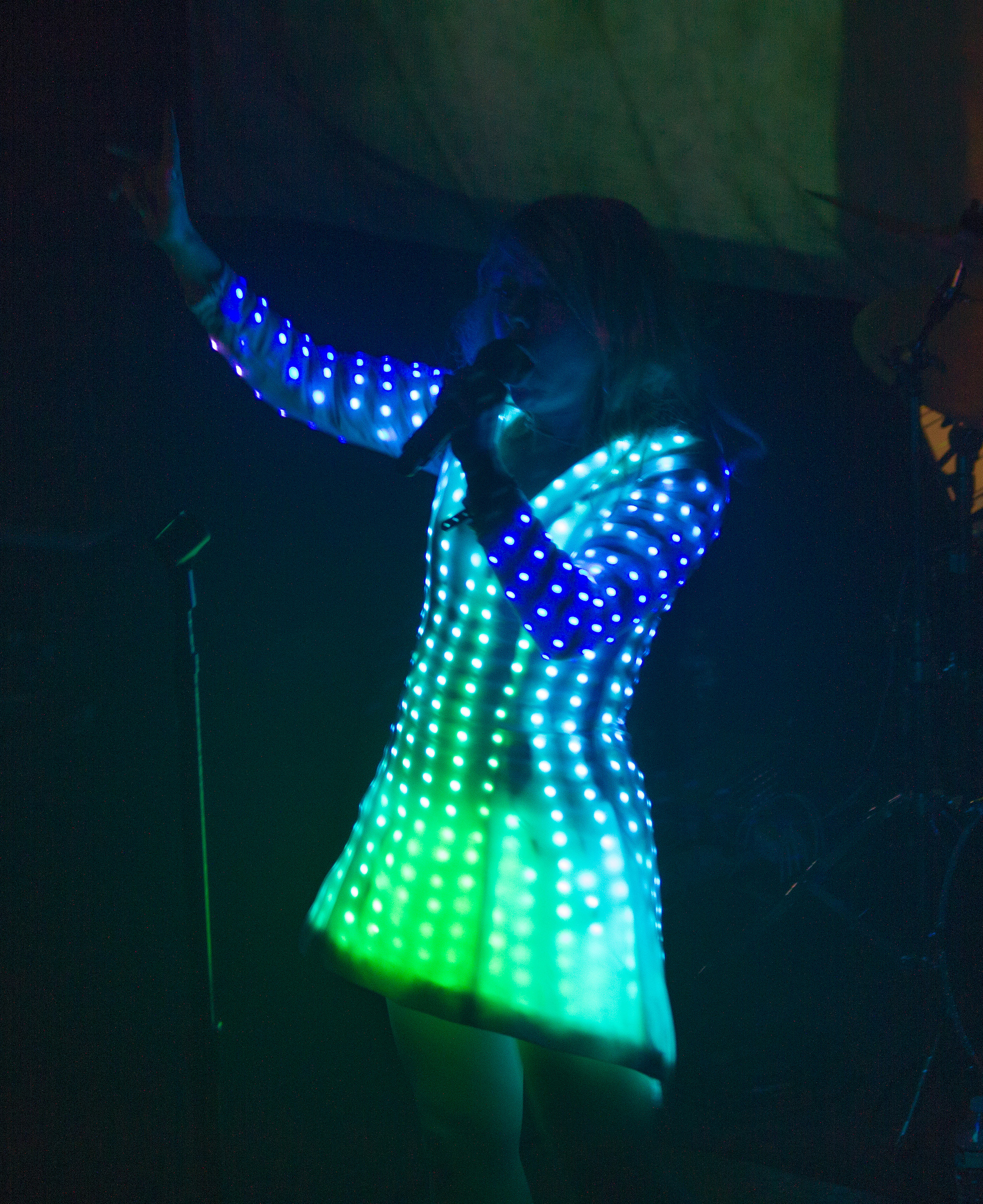Little Boots' Cyber Cinderella LED Dress