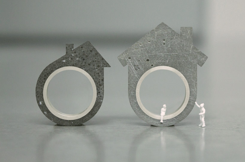 DIY concrete house ring kit