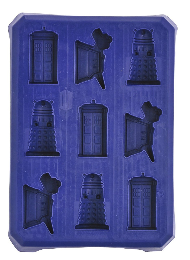 Doctor Who 9 Hole Ice Cube Tray