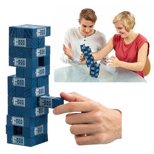 Doctor Who Tumbling TARDIS Tower Game