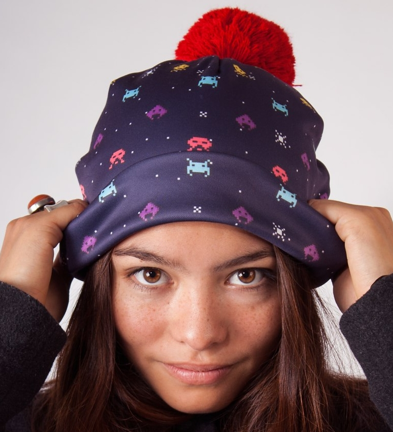 Invaders Beanie Hat