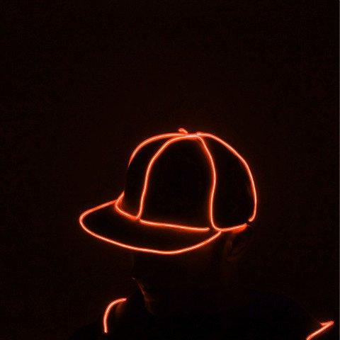 Light Up El Wire Hats