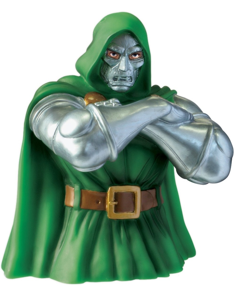 Marvel Dr. Doom Bust Bank