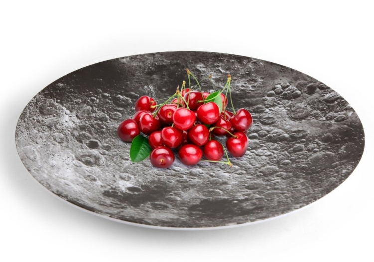 Moon Melamine Serving Bowl