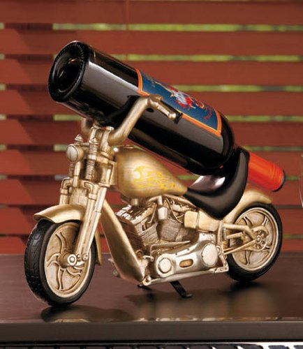 Motorcycle Biker Wine Bottle Holder