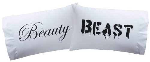 Pillowcases Beauty Beast