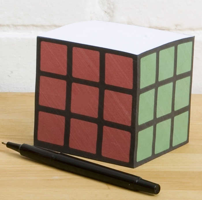 Rubiks Cube Note Pad