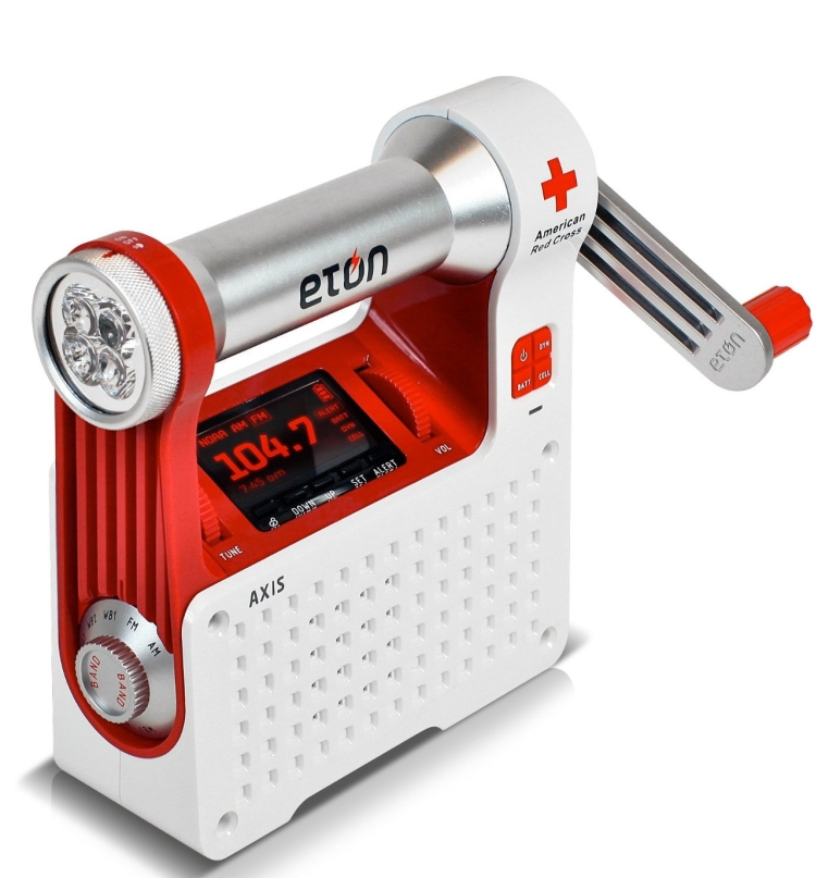 : Self-Powered Safety Hub with Weather Radio and USB Cell Phone Charger