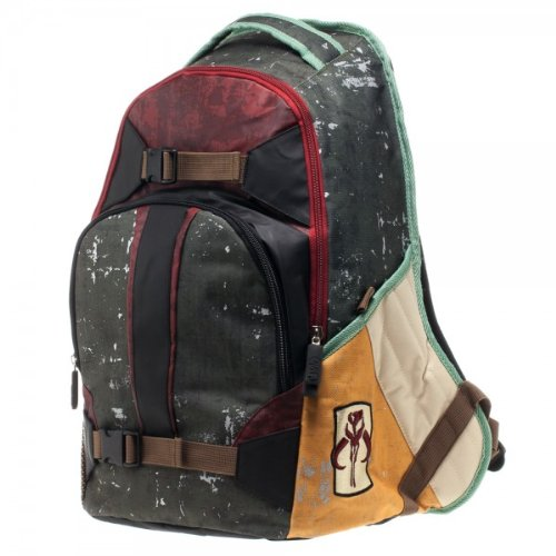 Star Wars Men's Boba Fett Mandalorian Backpack