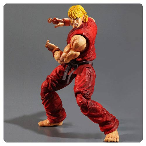 Super Street Fighter IV Ken Play Arts Kai Action Figure