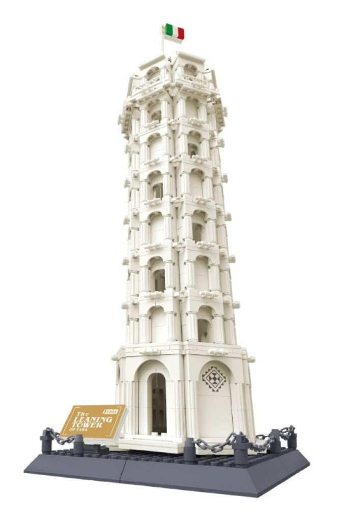 lego architecture leaning tower of pisa instructions