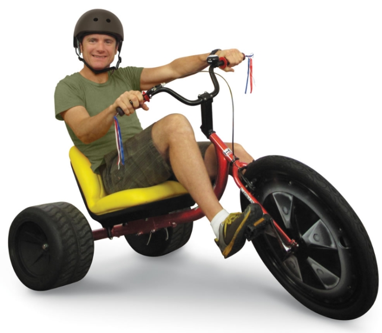 The Drifting Adult Trike