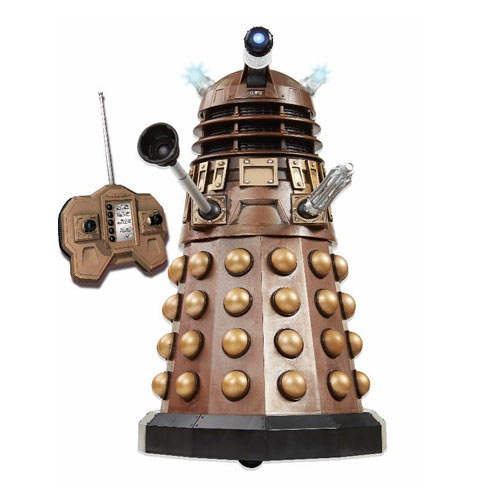 Doctor Who Asylum Dalek Remote Control Talking Dalek