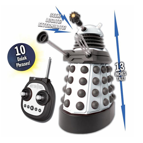 Doctor Who Remote Control Talking Dalek
