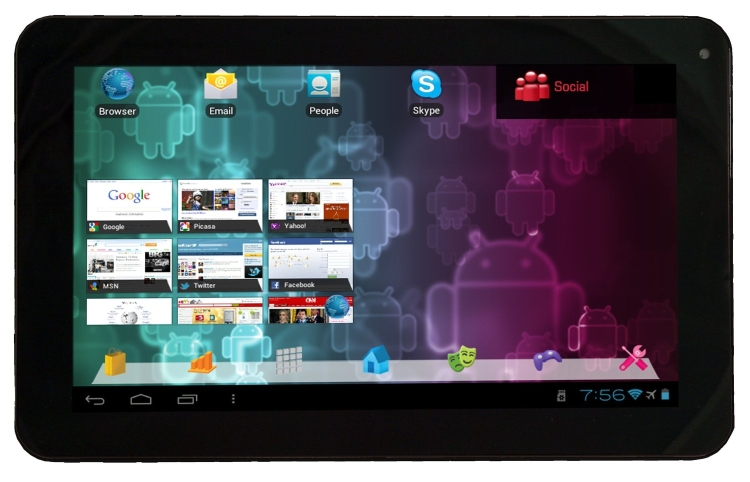 Visual Land Connect 9-Inch Tablet