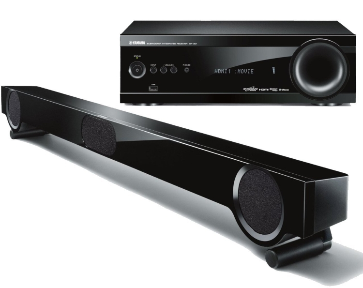 Yamaha ront Surround Home Theater System
